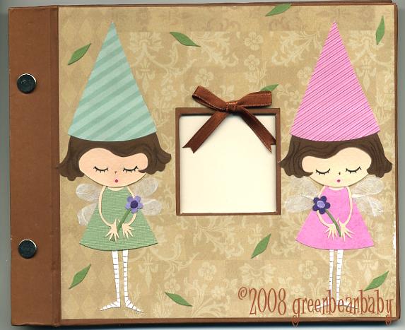 Fairy scrapbook