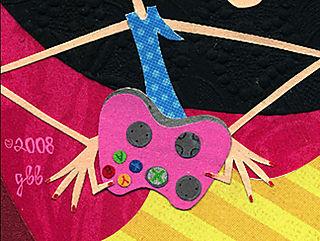 Girl gamer controller