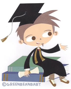 Lil graduating